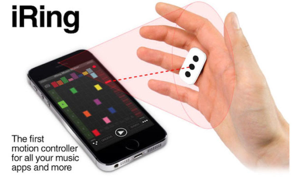 テルミンみたいな不思議インターフェース。スマホのMIDIをコントロールできる指輪「iRing」(追記あり)