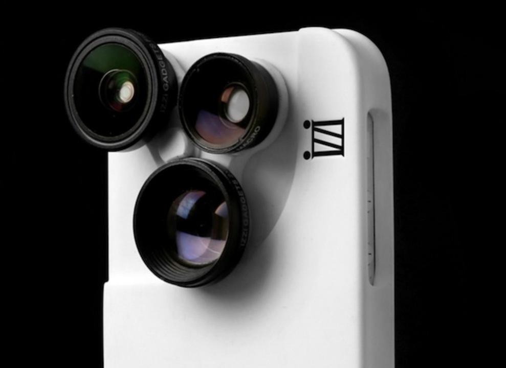 むせる〜。スコープドッグ風なiPhone5/5s用外付けレンズケース「iZZi Slim」が登場!(動画あり)