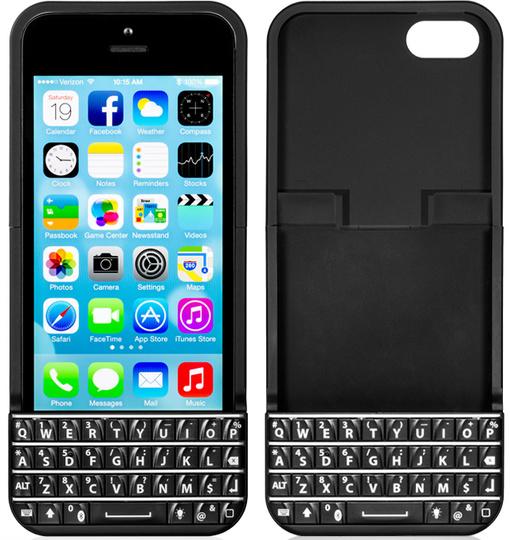 ブラックベリーのポチポチ感をiPhoneにもたらす「Typo iPhone Keyboard Case」が本家から提訴される