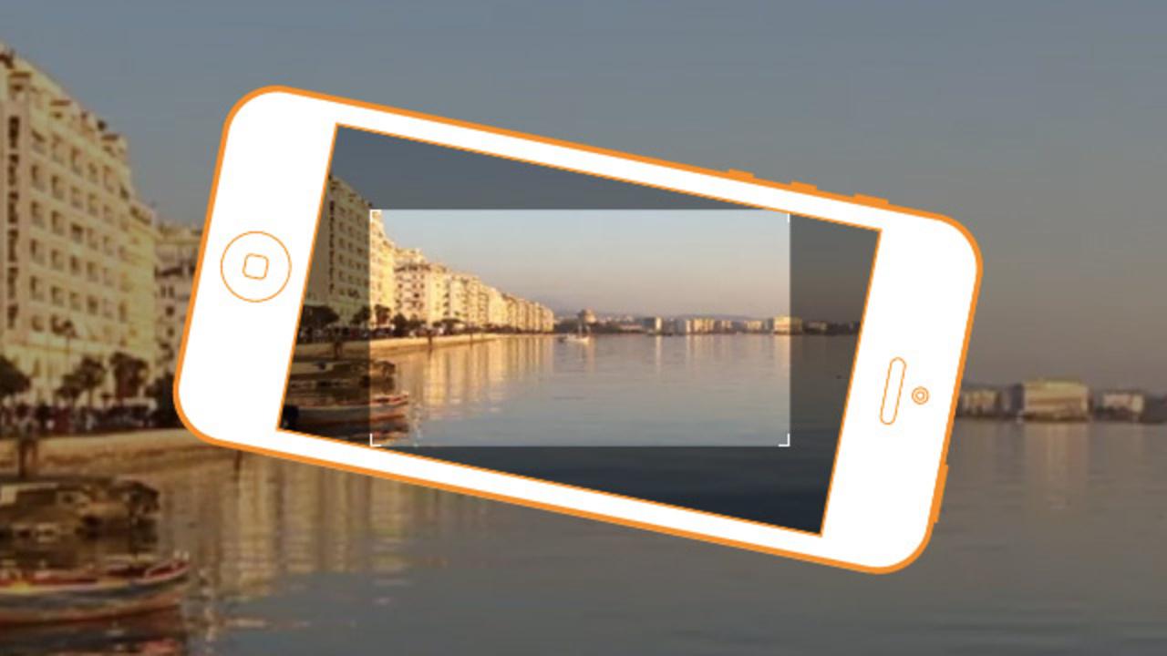 縦のモノも横に! iPhoneを縦に持ってても横位置動画が撮れるHorizon