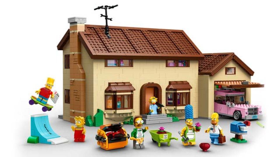 ザ・シンプソンズのレゴセット、公式画像が公開に(ギャラリー&動画)