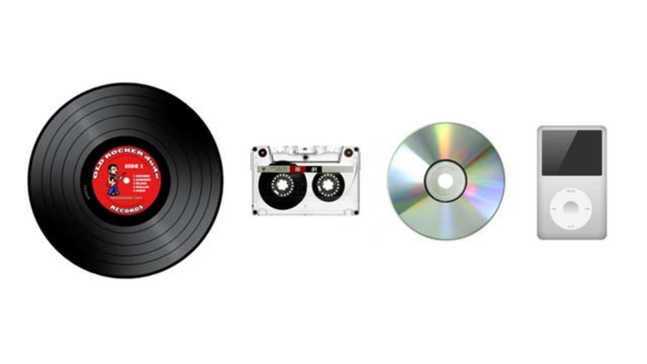 iTunes登場後初、2013年はデジタル音楽の売上げが落ちる