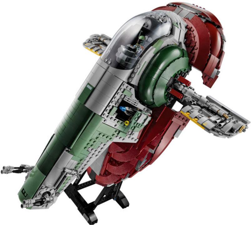 ボバ・フェットの愛機「Slave I」がレゴで完璧に再現されてる!