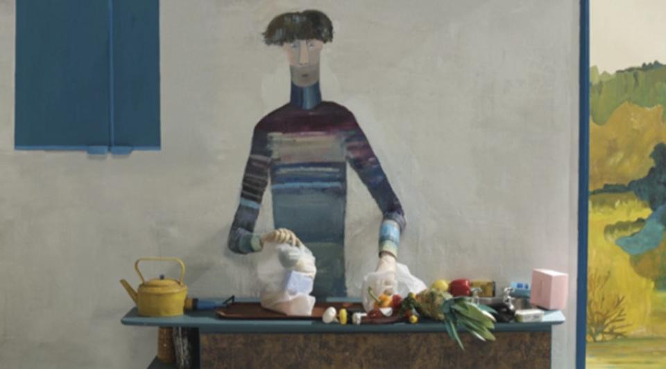 2Dと3Dの融合、家族の苦悩を描いたコマ動画「The Bigger Picutre」