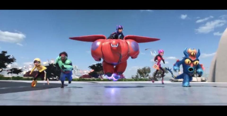 「Big Hero 6」新予告編でアクションシーンをお披露目