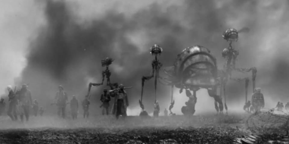 もしも第一次世界大戦が火星との戦争だったら