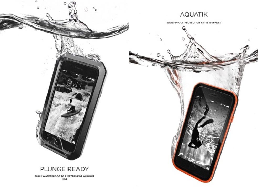 iPhone 6用の防水・防塵・耐衝撃ケースが登場