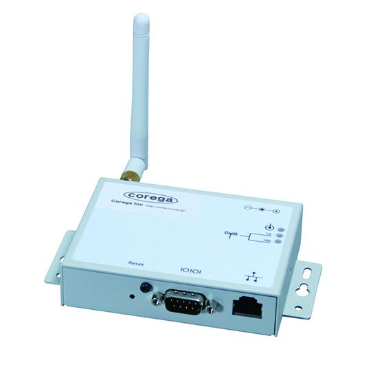 RS-232C機器をワイヤレス化できるアダプタ