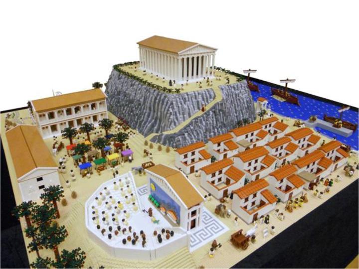 レゴで再現されるギリシャ神話の世界
