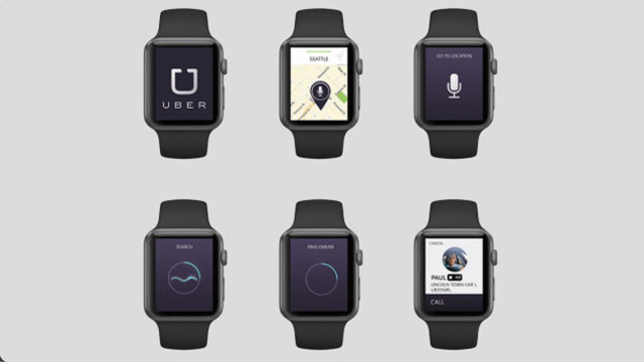 Apple Watchで使うアプリ・コンセプトデザイン版