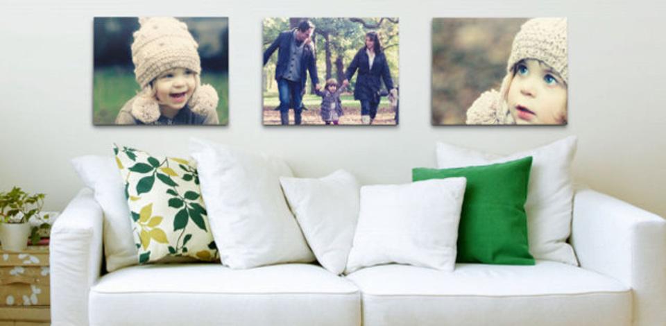 Flickrがアート販売、自分の写真をそのままキャンバス印刷へ