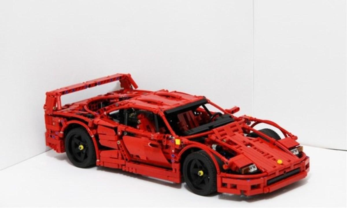 製品化なるか。LEGO IdeasでフェラーリF40のレゴセットが提案中