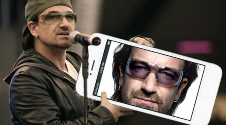 U2のボノ、iTunesで配ったニューアルバム騒動について謝罪