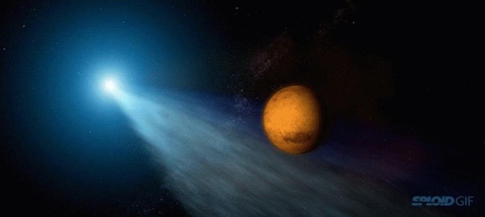 20日に火星へ大接近! 太陽系の果てから彗星がやって来る