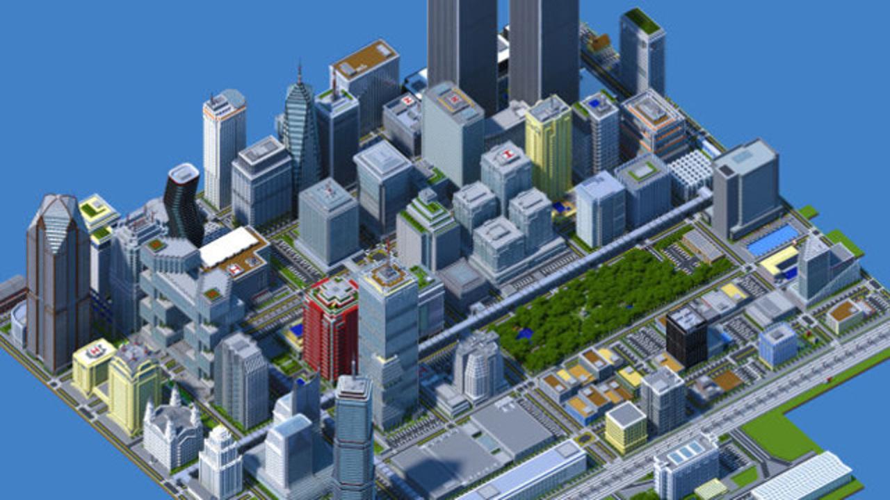 2年かけてマインクラフト大都市を作った男