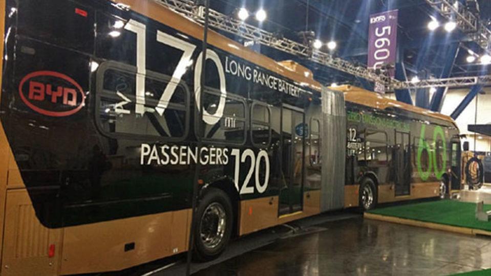 電気自動車の常識を覆す世界最大のバス