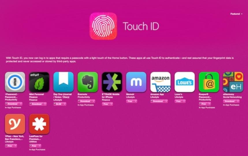 Touch IDで使いやすくなるアプリ6選