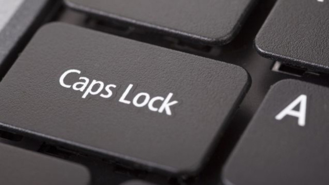 あ、昨日「INTERNATIONAL CAPS LOCK DAY」やったやん!