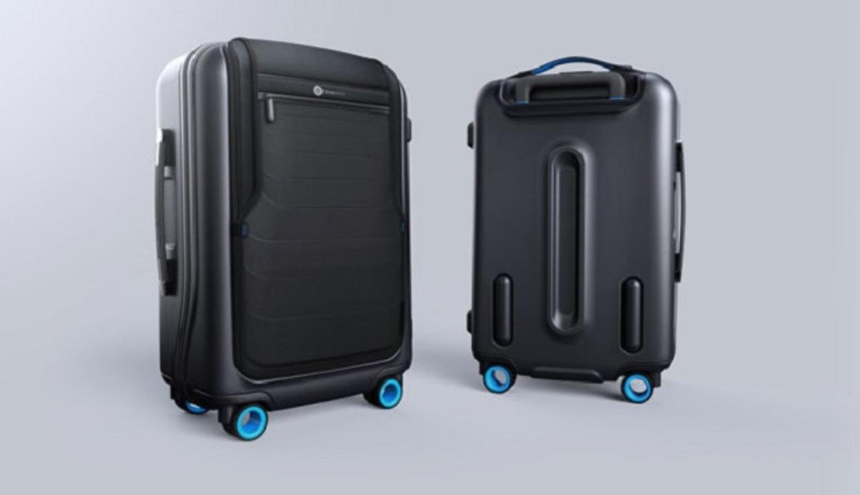 次世代スマートスーツケースはスマホ連携でかなり便利そう
