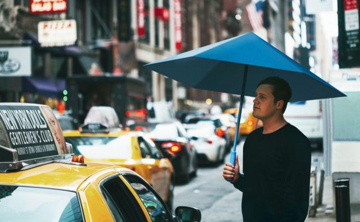 ヒントは折り紙。壊れ知らずの骨なし傘「Sa」