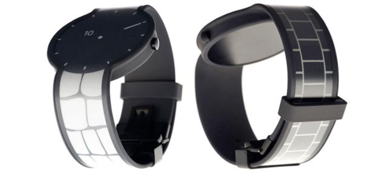 時計全体のデザインがカスタマイズできる電子ペーパー腕時計「FES Watch」