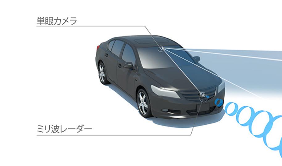 ホンダ、運転支援システムを開発。年内発売車種にもさっそく載せるみたい