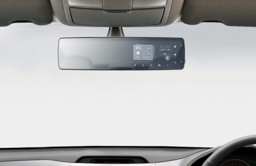 車内Wi-Fiも。パイオニアが国内初のLTE搭載ミラー型端末を開発