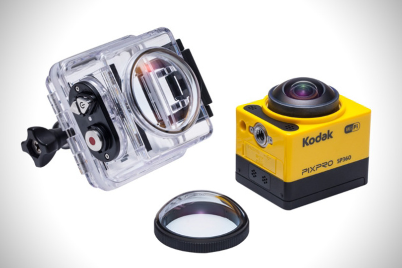 360度撮影できるアクションカムがコダックからも。「PIXPRO SP360」