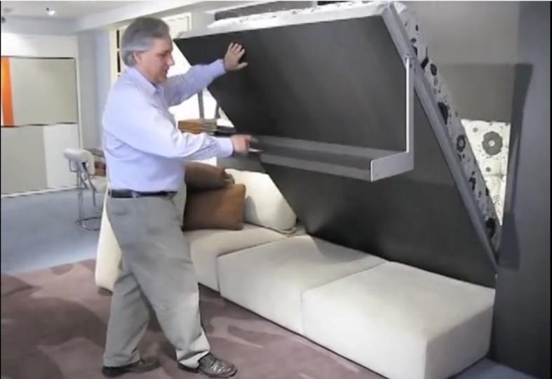 狭い部屋を最大限使える、変形する家具がスゴイ