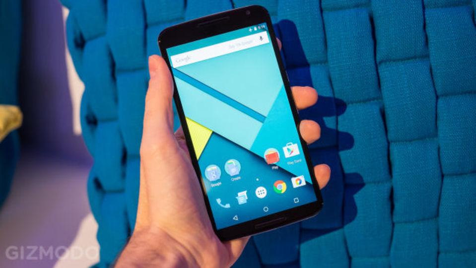 Nexus 6 ハンズオンレビュー、大きい、そして美しい