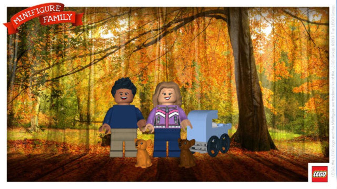 オリジナルカードが作れるレゴのミニフィグサイト