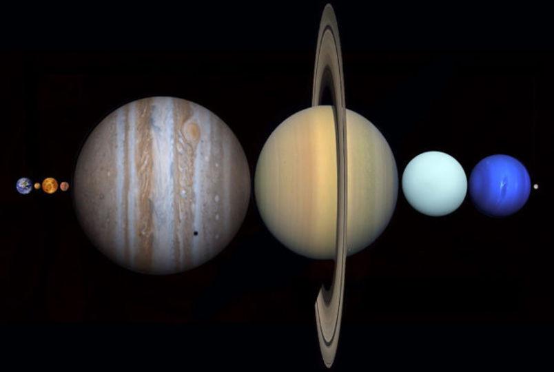 太陽系の惑星が整列したら