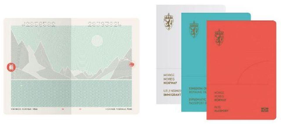 世界一可愛いノルウェーのパスポート、サプライズもあるよ!