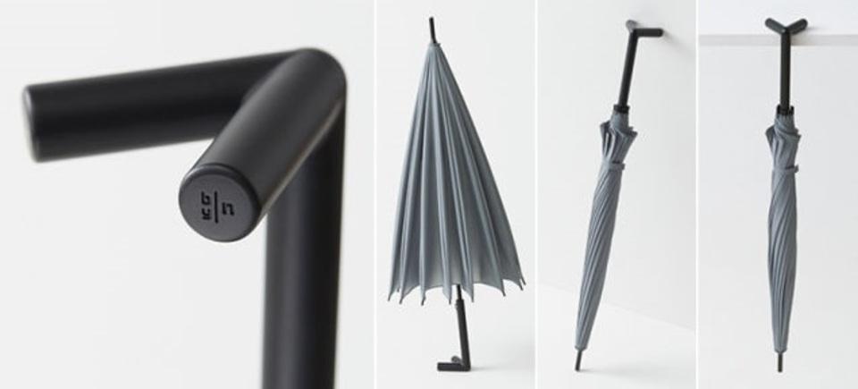 自立して雨水を乾かせるアイディア傘