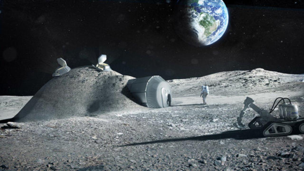 3Dプリンターで月面基地が作れる? コンセプトデザインが公開