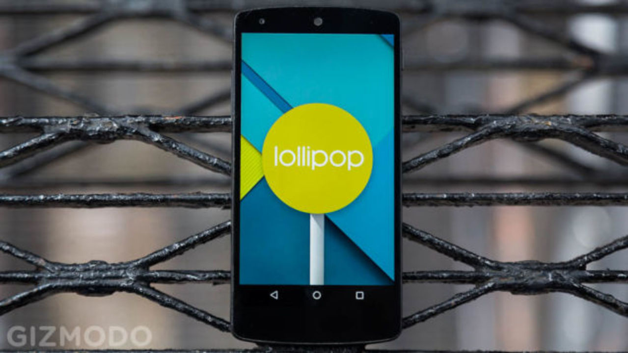 Android 5.0 Lollipop、Nexusにもやっと来たよ