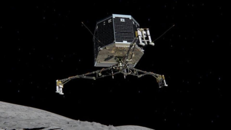 彗星着陸機フィラエ、太陽の光を待ちつつ休眠モードに入る