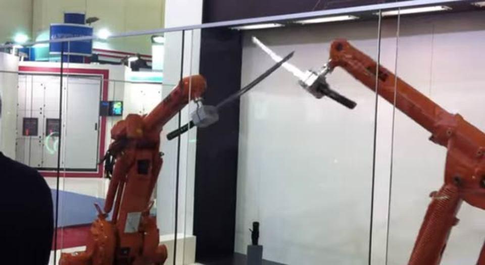 ロボット・チャンバラ