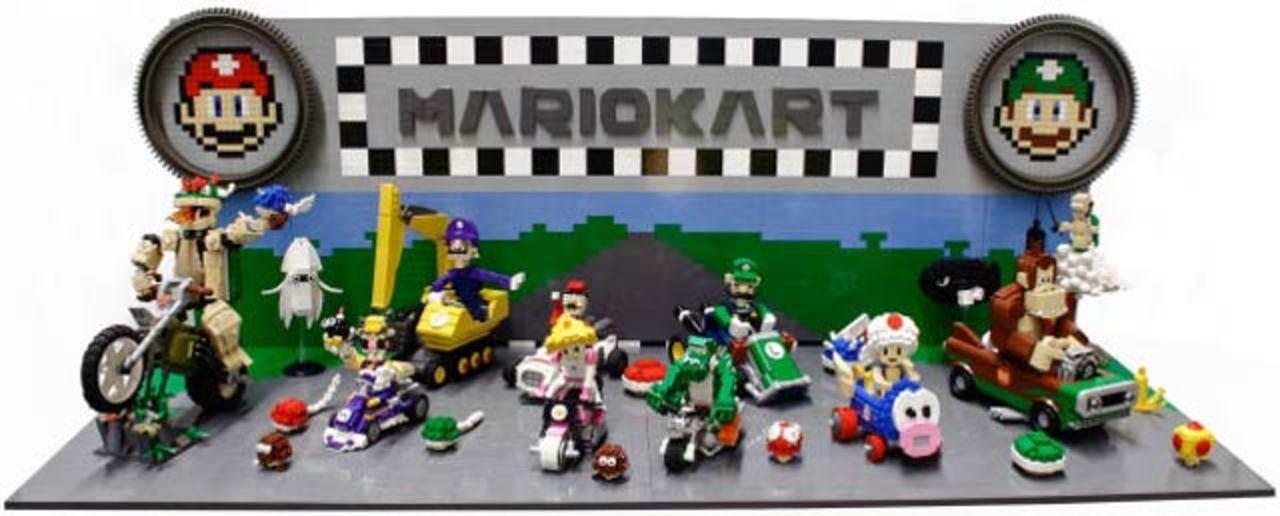さすがレゴ職人! レゴ・マリオカートが素晴らしい出来