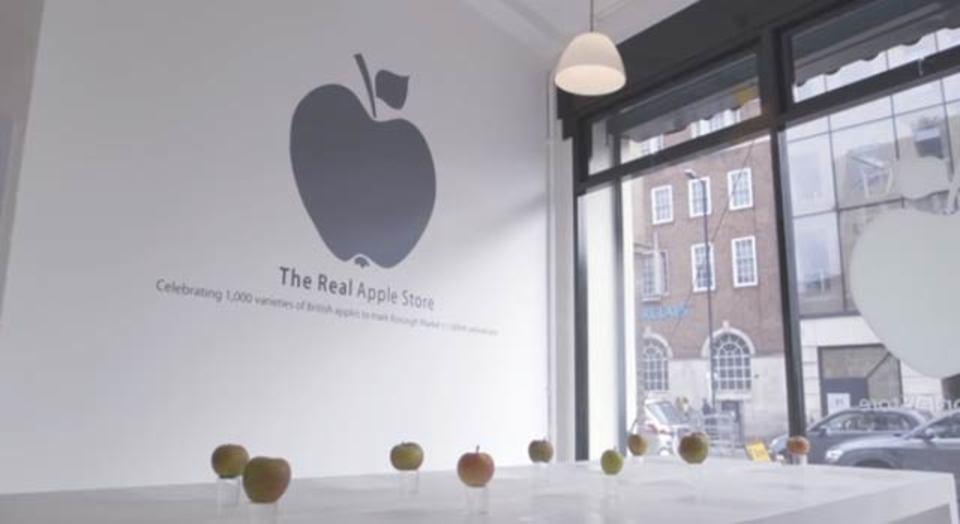 リアル・アップルストア、1000種類のりんごをどうぞ