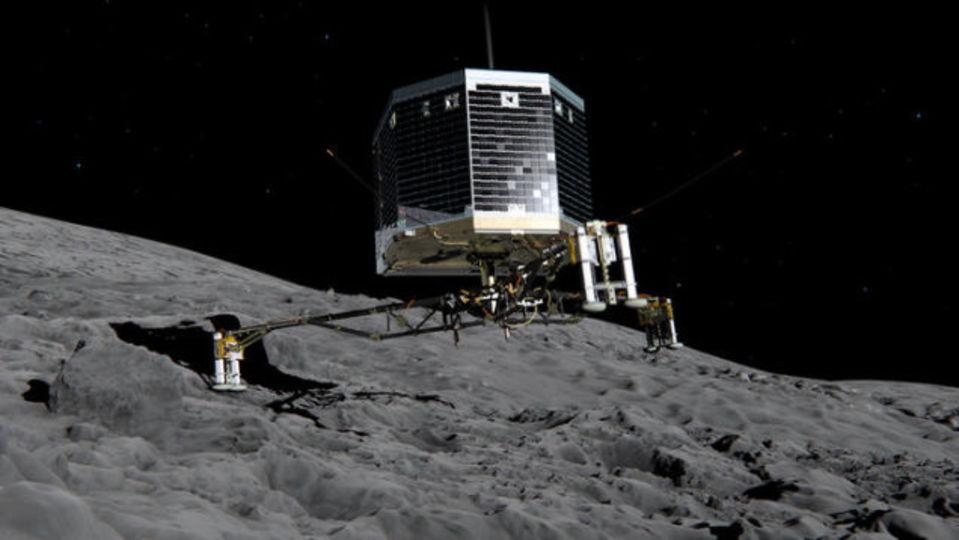 彗星に着陸する音って、こんな風なんだ