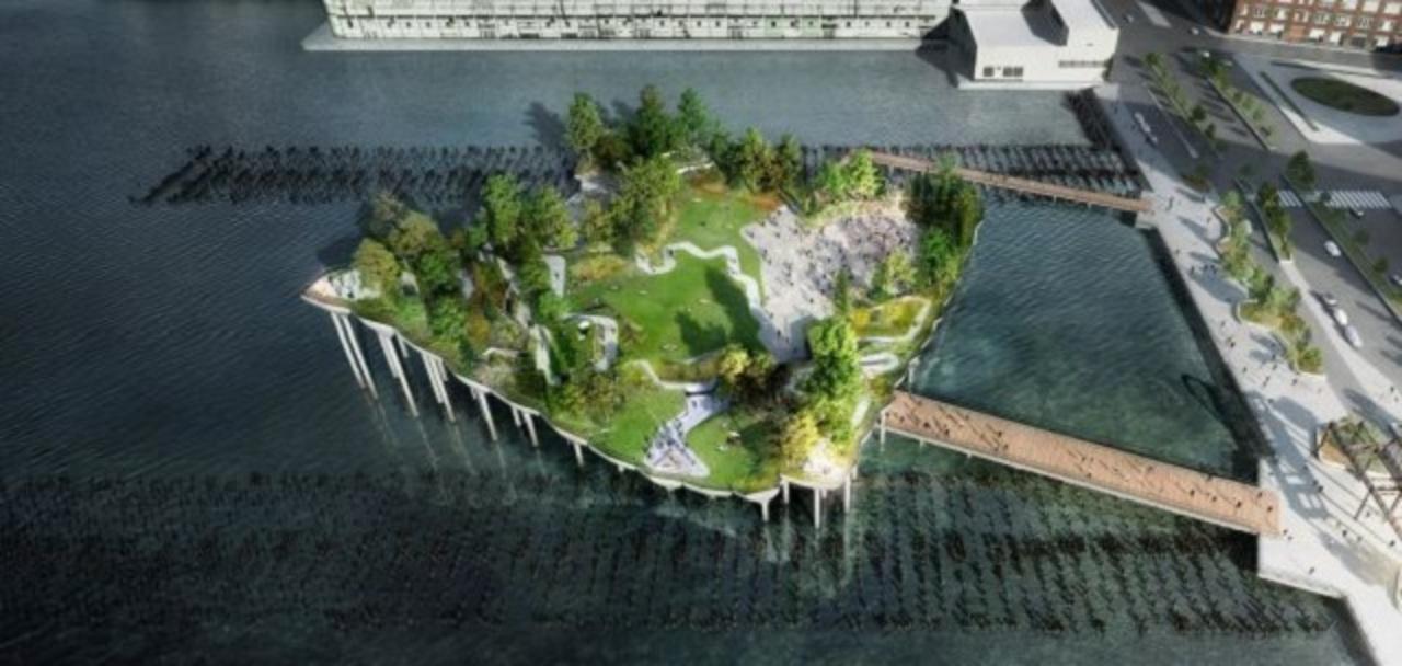 ニューヨーク、ハドソン川に空中庭園が建設されるかも