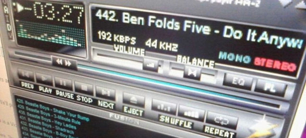 90年代の名物音楽アプリ「Winamp 2」、html5で復活する