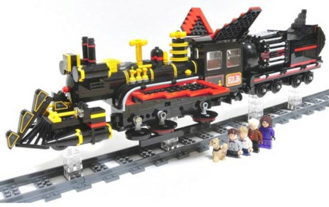 「バック・トゥー・ザ・フューチャー III」の、あのタイムマシン機関車がレゴで自作できる!