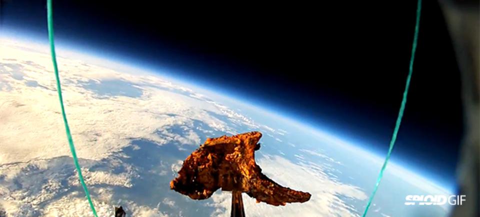 ラムチョップ、宇宙へ進出