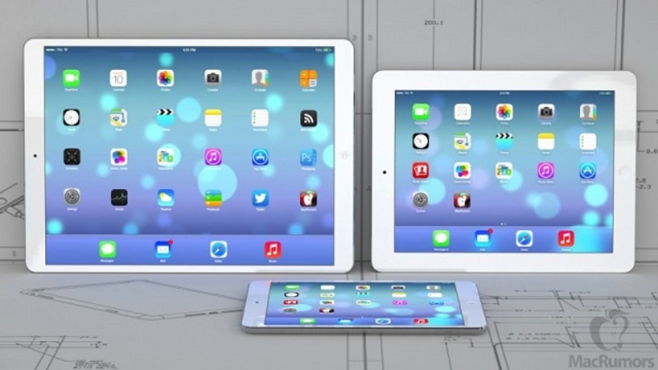 12.2インチの大きなiPad Air詳細情報。登場は来年4月~6月?