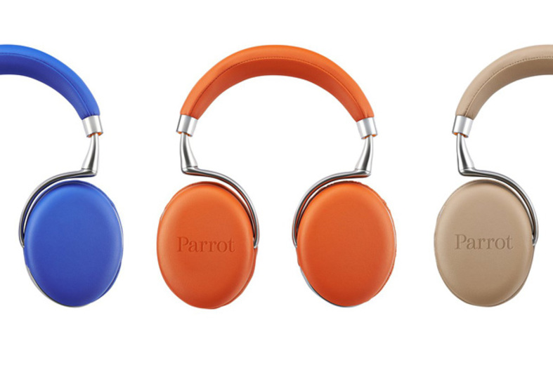 合計8コものマイクを仕込んだヘッドフォン「Parrot Zik2.0」