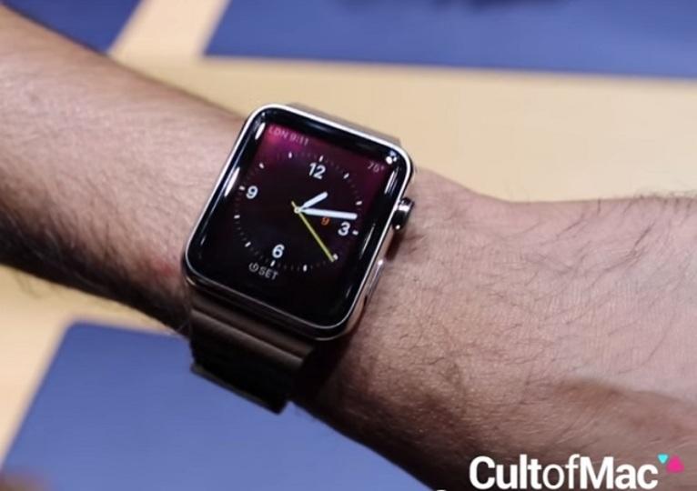 じっくりみよう。Apple Watchが動く様子