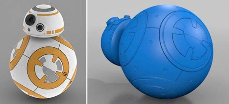 スター・ウォーズ最新作にでてくるボールみたいなドロイド、早くも3Dプリンターで制作可能