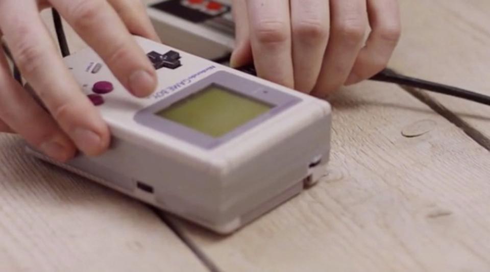 初代ゲームボーイをHDMI出力して大画面で思い出に浸ろう